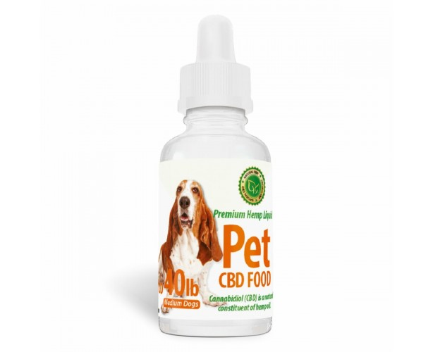 Pet CBD Food for Medium Dogs - [50mg] Bacon Flavor